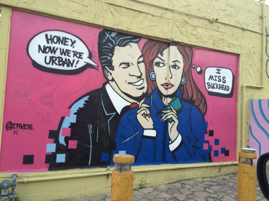 Urban Graphic off Ponce de Leon in Atlanta